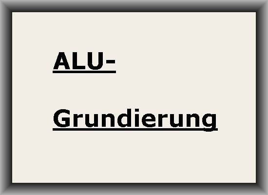 GRUNDIERUNG ALU-Grundierpulver
