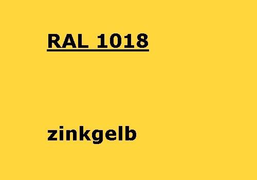 RAL 1018 zink-gelb glänzend