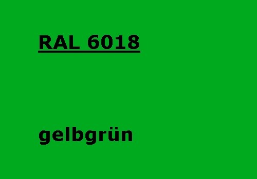 RAL 6018 gelb-grün glänzend