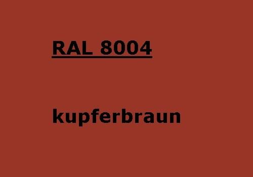 RAL 8004 kupfer-braun glänzend