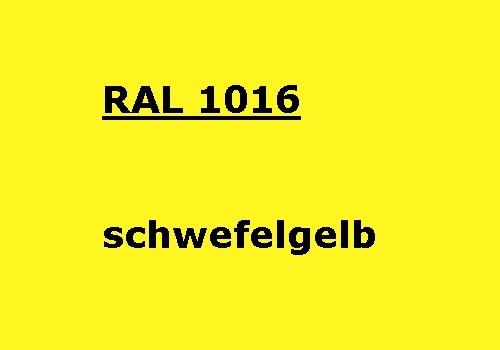 RAL 1016 schwefel-gelb glänzend 500g
