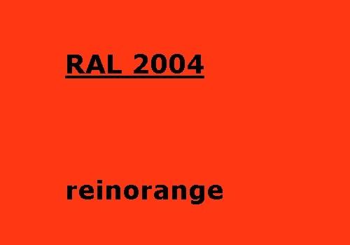 RAL 2004 rein-orange glänzend