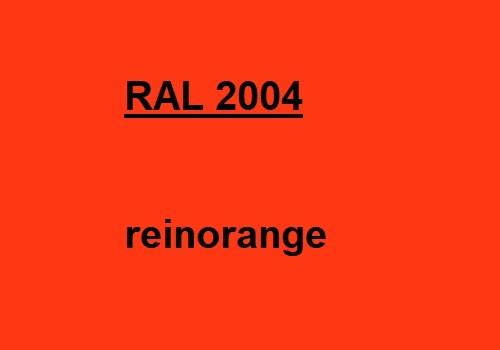 RAL 2004 rein-orange glänzend 500g
