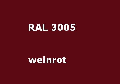 RAL 3005 wein-rot glänzend