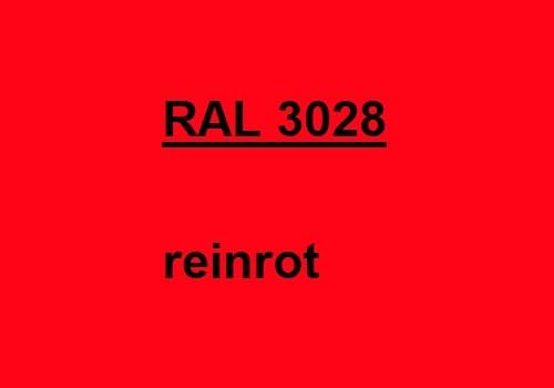 RAL 3028 rein-rot glänzend 500g