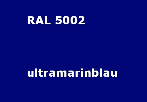 RAL 5002 ultramarin-blau glänzend