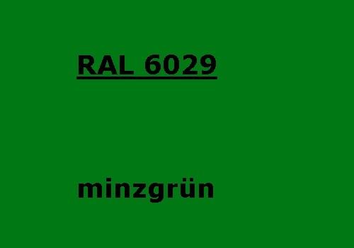 RAL 6029 minz-grün glänzend