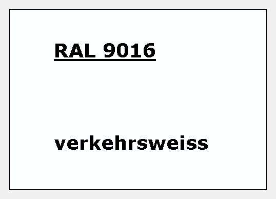 RAL 9016 verkehrs-weiß glänzend 500g