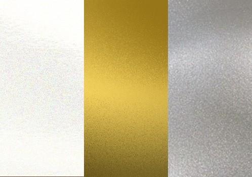 STARTER-SET 3x Metallic-Farben je 250g