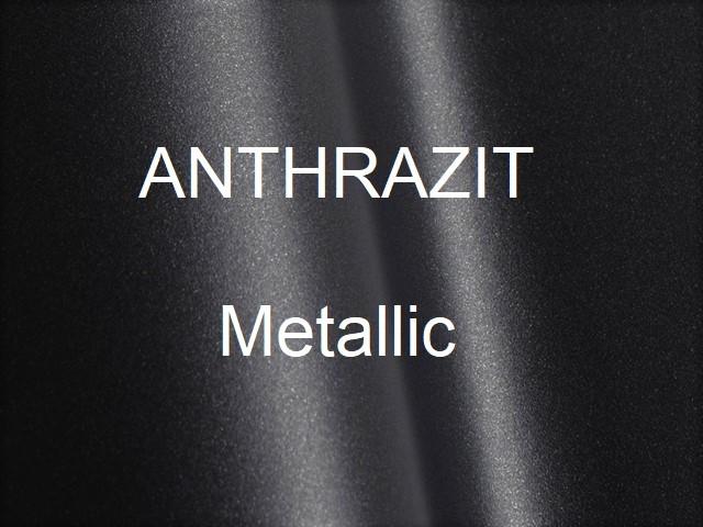 ANTHRAZIT Metallic glatt seidenmatt