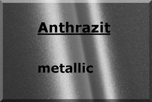 ANTHRAZIT Metallic glatt seidenmatt 500g