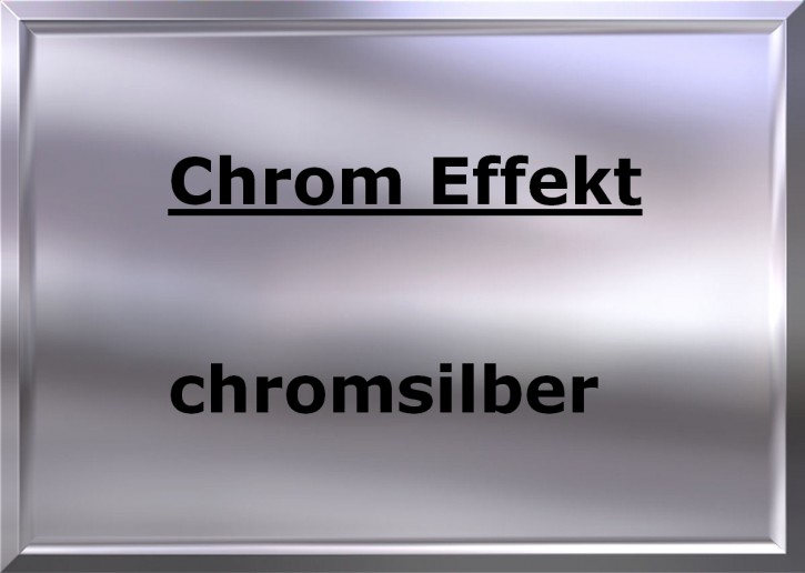 CHROME EFFECT chrome-silver high gloss