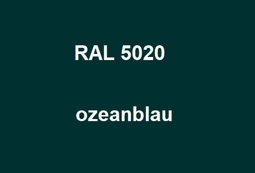 RAL 5020 ozean-blau glänzend