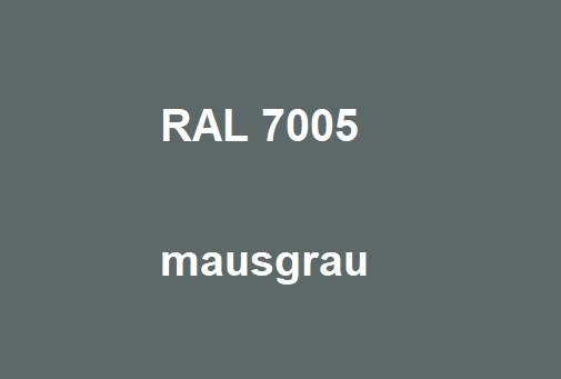 RAL 7005 maus-grau glänzend