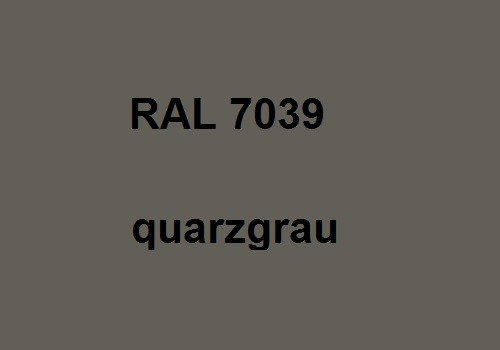 RAL 7039 quartz-grey - glossy