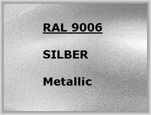 RAL 9006 SILVER EFFECT metallic