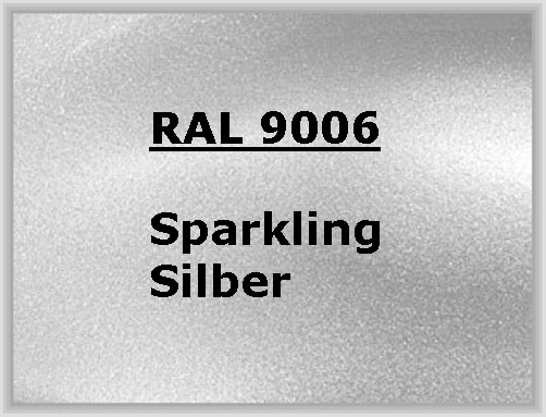 RAL 9006 SPARKLING SILVER glossy
