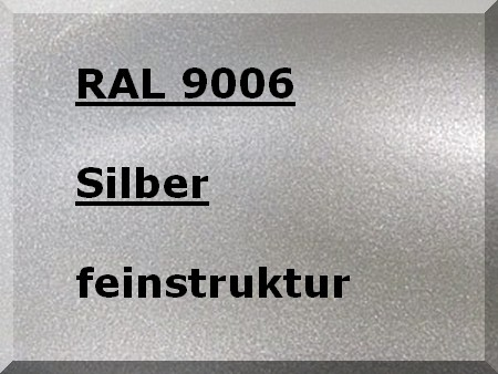 RAL 9006 SILVER metallic textured