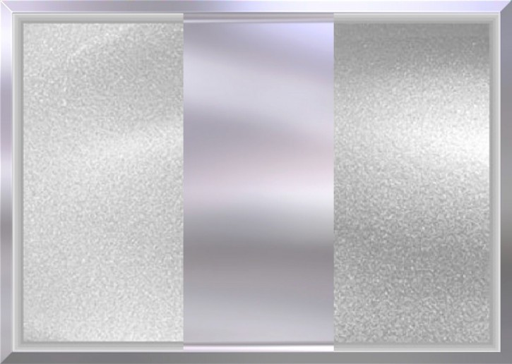 STARTER-SET 3x Silber-Metallic je 250g