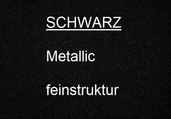 1A SCHWARZ METALLIC feinstruktur