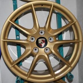 GOLD EFFEKT Metallic glatt glänzend